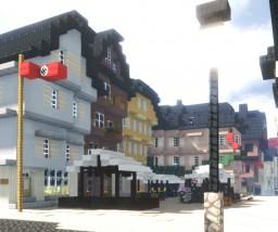 Lindenplatz, Gießen, Germany. Minecraft