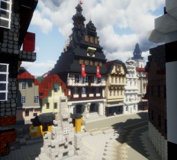 Altes Rathaus, Gießen, Germany. Minecraft Map & Project