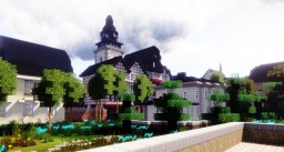 Stadtkirche St. Pankratius, Gießen, Germany Minecraft