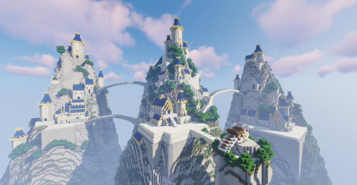 Popular Project : AvatarMC: Eastern Air Temple
