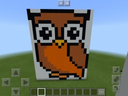 PIxel owl Minecraft Map & Project