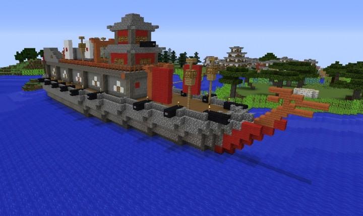 Popular Server Project : Atakebune Japanese 16th century Ironclad