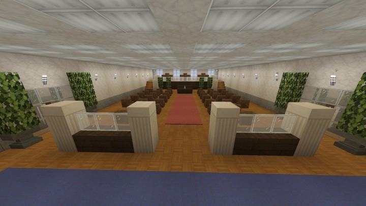City Council Chamber. This where the big city meetings are held.