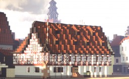 Kommandantur, Hanau, Germany Minecraft