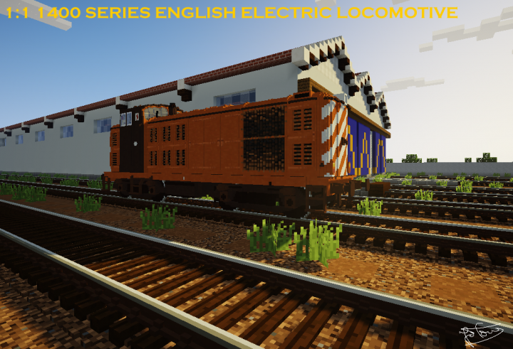 Popular Project : Chisel and Bits CP 1400 Series Locomotive