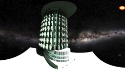 alien skycraper Minecraft Map & Project