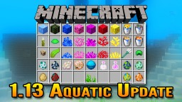 Minecraft 1.13 Aquatic Update Overview | Underwater Beacons,  Underwater Ruins, Ship Wrecks & More! Minecraft Blog Post
