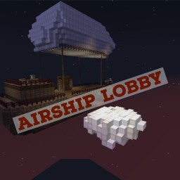 Airship Skyblock Spawn Minecraft Map & Project