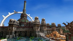 The Solitude Fortress Minecraft Map & Project