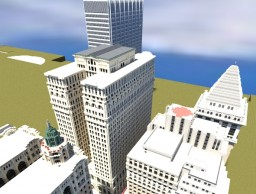 Wall Street - New York Minecraft Map & Project
