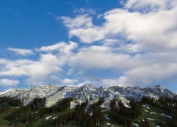 Boulder-White Clouds Wilderness - Idaho Map Minecraft Map & Project