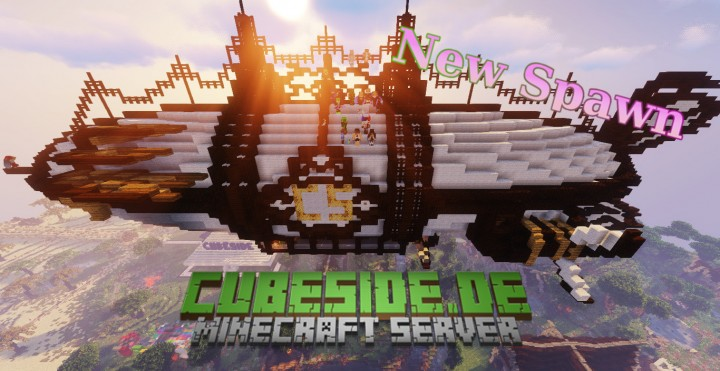 Popular Server Project : Server Spawn Cubeside.de - New Spawn - Exploration Quests added!