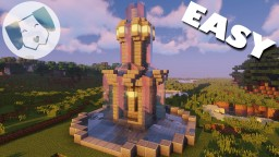 Easy Basic Fountain Tutorial Minecraft Map & Project