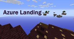Azure Landing; Skyblock PvP with Classes Minecraft Map & Project