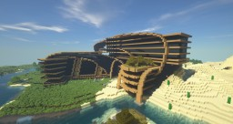 Organic Office Center Minecraft Map & Project