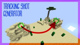 Tracking shot generator for Minecraft 1.12 | by Skyball Minecraft Map & Project