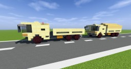 7to GL German Military Truck Minecraft Map & Project