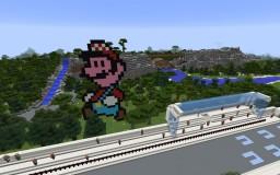 Demo Mario Kart Ice Minecraft Map & Project