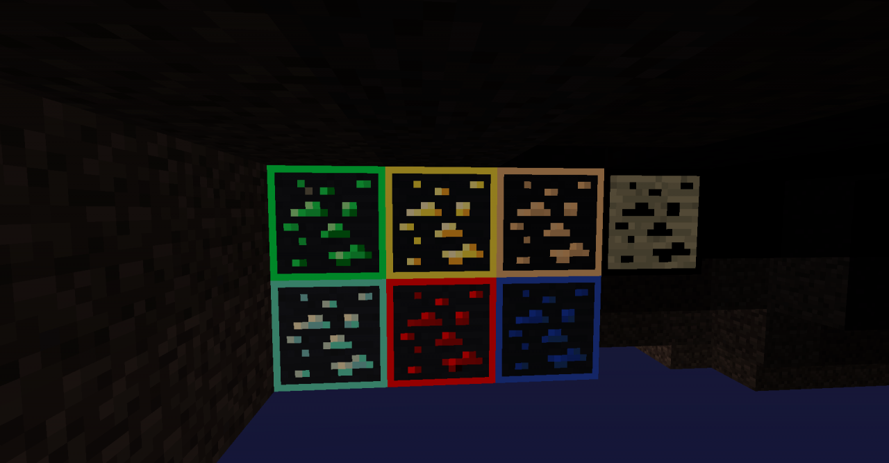Visible Ores resource pack (not xray) [OptiFine] Minecraft Texture Pack