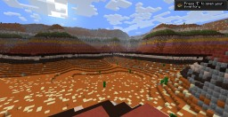 The Desert and Mesa Minecraft Map & Project