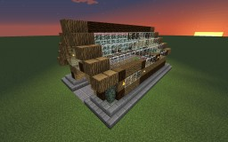 Semi-automatic sugarcane farm Minecraft Map & Project