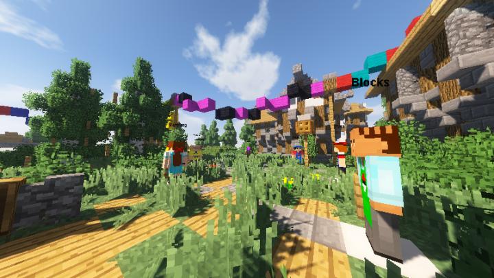 Minecraft Shop Area