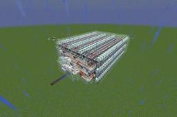 Ultra-Efficient Automatic Mushroom Farm Minecraft Map & Project