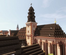 Marienkirche, Hanau, Germany Minecraft