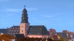 Marienkirche, Hanau, Germany Minecraft