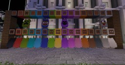 Additional Elytra's & Invisible armor [requires optifine] - 20 new elytras! Minecraft