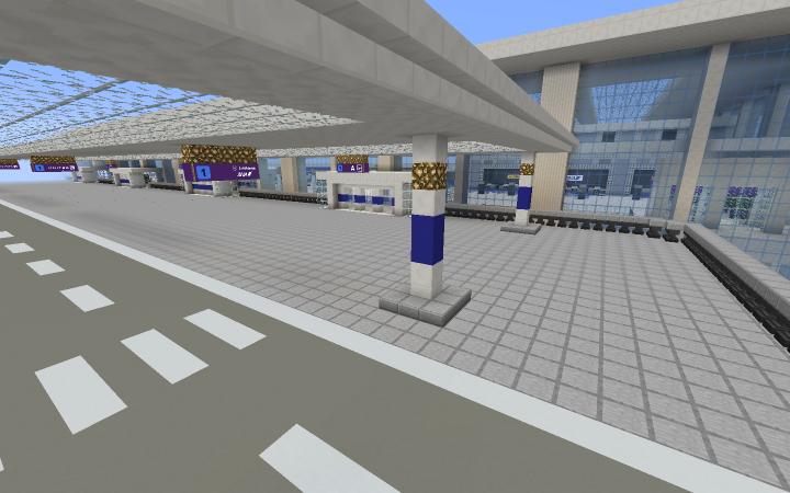 Terminal 1 roadway