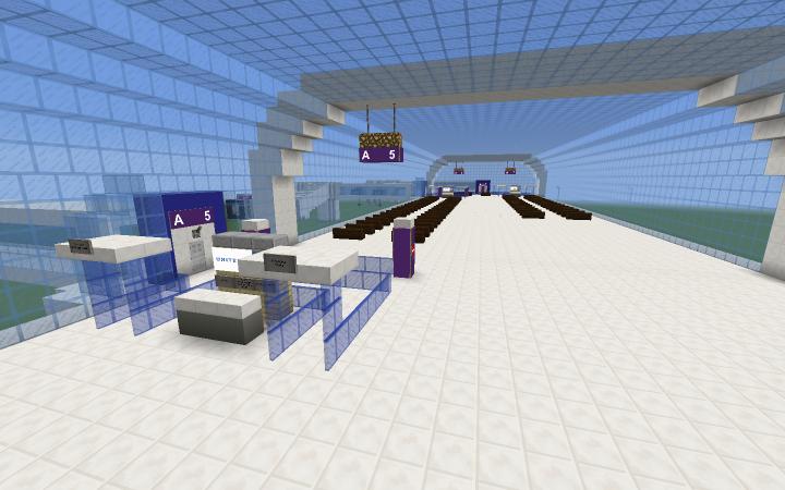 Concourse A- international departures