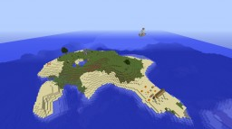The Secret Cursed Island Minecraft Map & Project