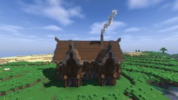 Big Medieval Farm House Minecraft Map & Project