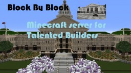 Block By Block Server- Perfet Server For Talented Builders Minecraft Map & Project