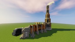 Steampunk Steam Boiler Minecraft Map & Project
