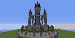 CastleSpawn Minecraft Map & Project
