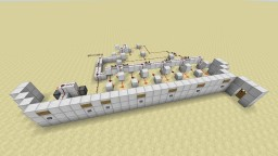 Button combination lock Minecraft Map & Project