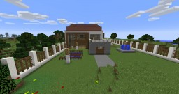 Big House [FURNISHED] Minecraft Map & Project