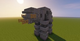 Star Wars AT-AT FO Minecraft Map & Project