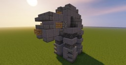 Star Wars AT-M6 Minecraft Map & Project