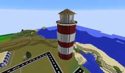 Basic Lighthouse Minecraft Map & Project