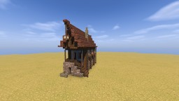 [Wellandel Studios Application] Medieval Bakery Minecraft Map & Project