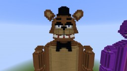 Minecraft FNAF Statues [V2] Minecraft Map & Project