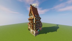 Medieval Smithery Minecraft Map & Project