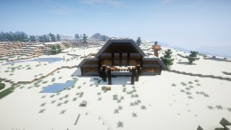 The Beautiful Mansion And The Ice Spike Base Minecraft Map & Project