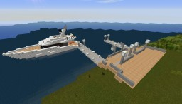 Tiny dock with Yacht and heli | WWNR | Minecraft Map & Project