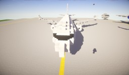 Boeing 737 MAX-7 Minecraft Map & Project
