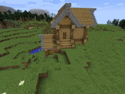5x5 Chunks House Minecraft Map & Project