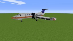 EMB-120 Close to 1:1 Scale Minecraft